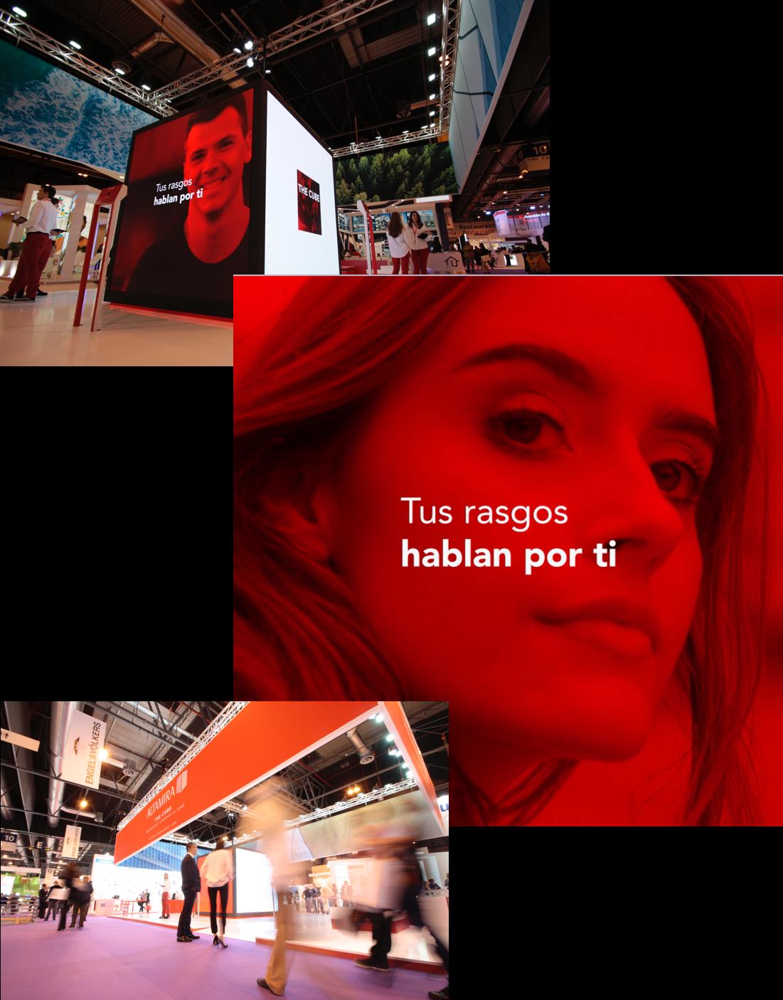 Conjunto de imágenes de Altamira Cube